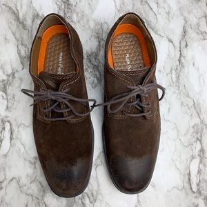 Hush Puppies plane oxford buck shoes